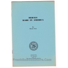 Medals Made in America by Moritz Furst 1954