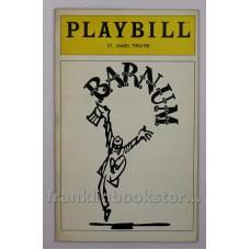 Barnum Original 1980 Playbill St. James Theater - Jim Dale