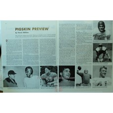 1947 Pigskin Preview Football Stars 8 Photos