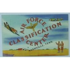 Air Force Classification Center, Nashville TN 1943