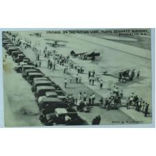 Flying Line Floyd Bennett Airport Brooklyn 1939
