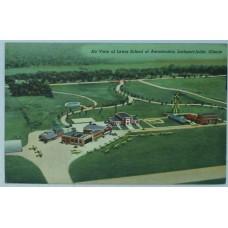 Air View of Lewis School of Aeronautics, Lockport-Joliet, Illinois 1942