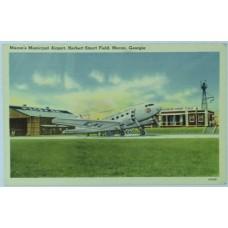 Macon's Municipal Airport, Herbert Smart Field, Macon, Georgia