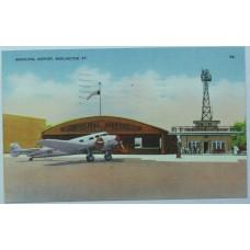 Municipal Airport, Burlington, VT. 1944