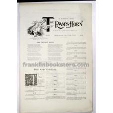 Ram's Horn October 3 1896