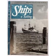 Ships and the Sea January 1952
