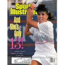 Jennifer Capriati 13 Year Old Tennis March 19, 1990 Sports Illustrated