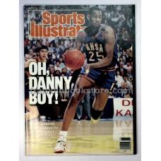 Danny Manning Sports Illustrated April 11 1988