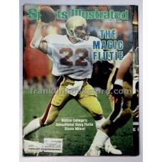 Boston College Doug Flutie Sports Illustrated December 3 1984, Seattle Seahawks