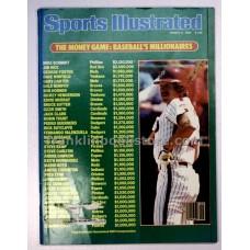 1985 Baseball's Millionaires, Sports Illustrated March 4 U.S. Soccer Ricky Davis