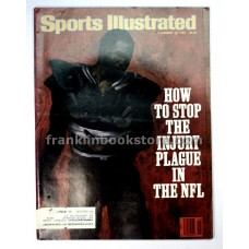 Injury Plague in the NFL, Sports Illustrated November 10 1986, Lady's Secret,