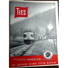 Merle Yenawine TIES Southern Railroad 1950 Saluda