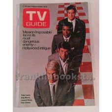 Mission Impossible TV Guide October 18-24 1969