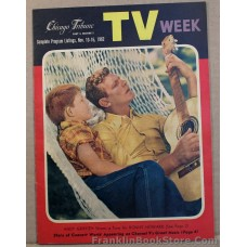 Andy Griffith and Ronny Howard 1962 Chicago TV Week