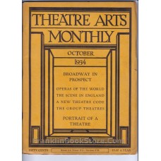 Max Gordon  1934 October Theatre Arts, Soviet Jazz Comedy